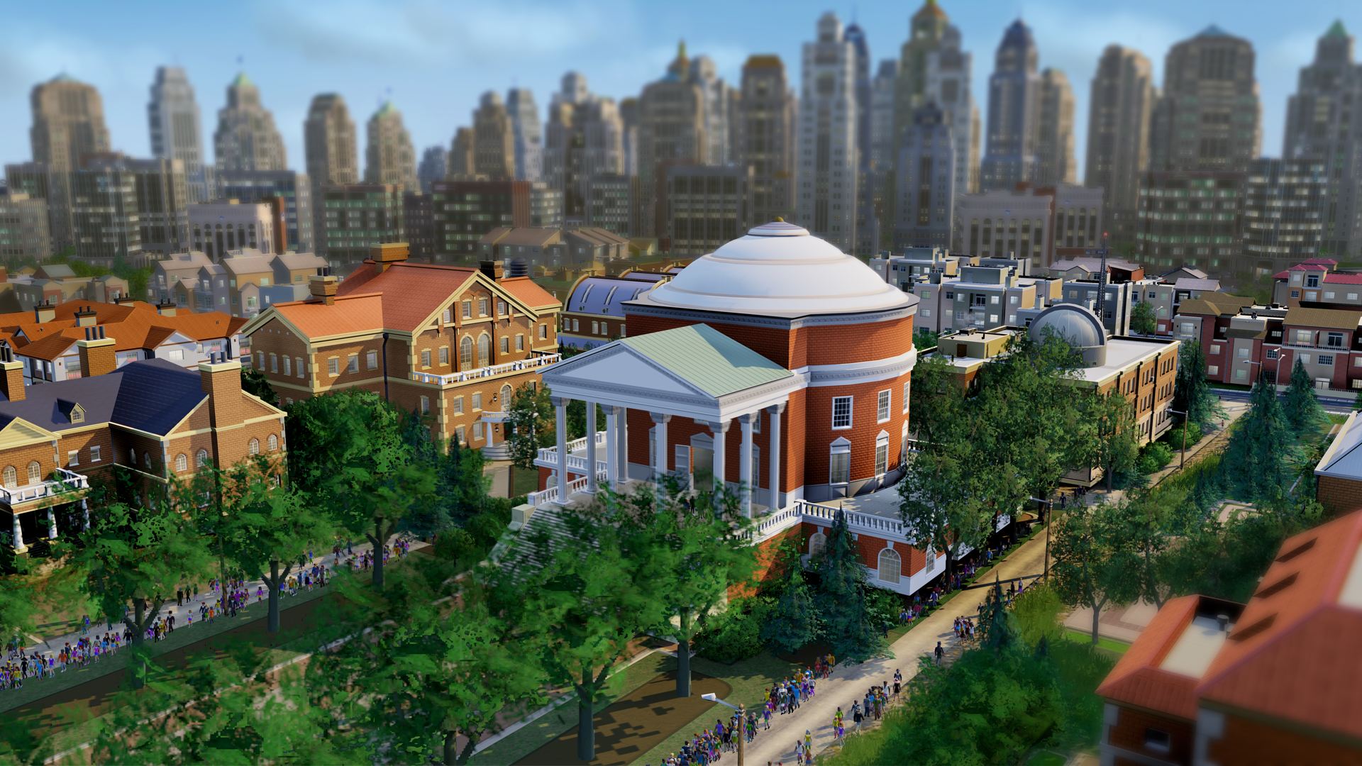 Sim City screenshot